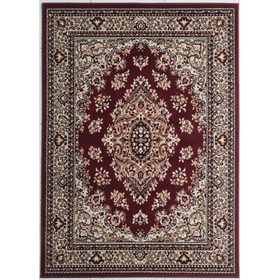 Haight Burgundy Area Rug