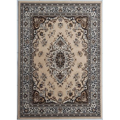 Haislip Brown Area Rug Rug Size: Rectangle 53 x 72