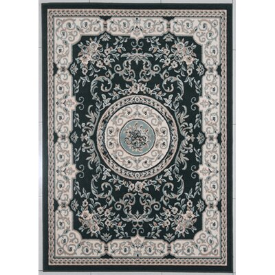 Leeper Emerald Green Area Rug