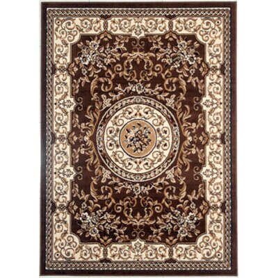Leeper Brown Area Rug