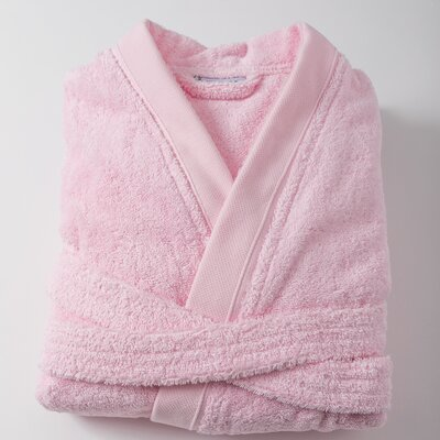 Amedeo Kimono Bathrobe Size: Large, Color: Pink