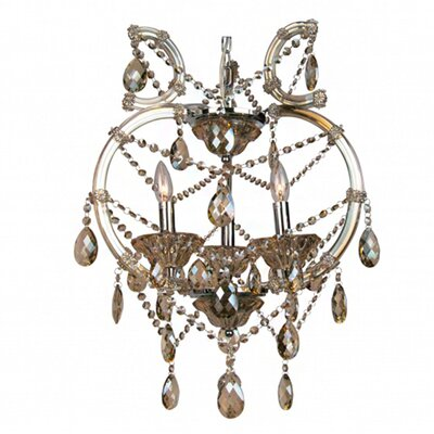 Horsham 3-Light Crystal Chandelier