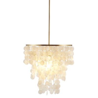 Isla 1-Light Crystal Chandelier