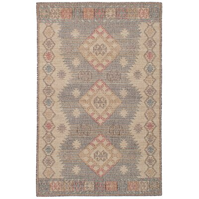 Bevers Hand-Woven Wool Brown/Cream Area Rug Rug Size: Rectangle 411 x 80