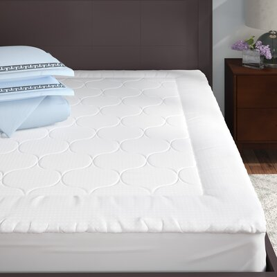 2 Polyester Mattress Pad Size: Queen
