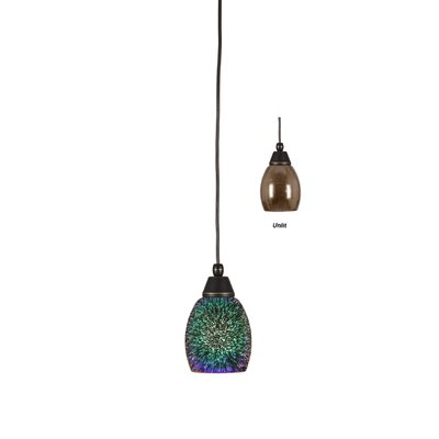 Highhouse 1-Light Mini Pendant Finish: Dark Granite