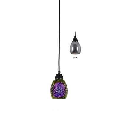 Bartolomeu 1-Light Mini Pendant Finish: Bronze, Shade Color: Copper