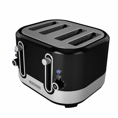 4-Slice Extra-Wide Slot Toaster TR4200SBD