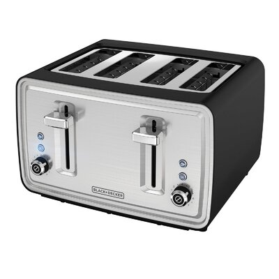 4 Slice Extra-Wide Slots Toaster TR4900SBD