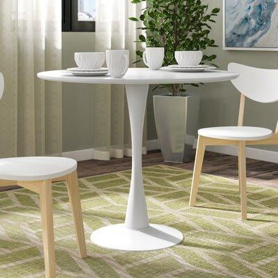 Ayer Dining Table Finish: White