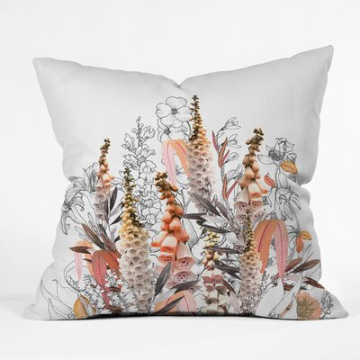 Iveta Abolina Lupines Throw Pillow Size: 16 x 16