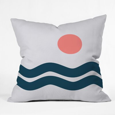 The Old Art Studio Nautical Throw Pillow Size: 26 x 26
