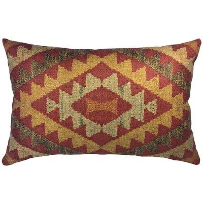 Craighead Pattern Linen Lumbar Pillow