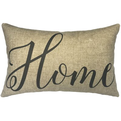 Leanos Home Linen Lumbar Pillow