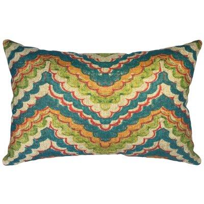 Scoggin Chevron Linen Lumbar Pillow