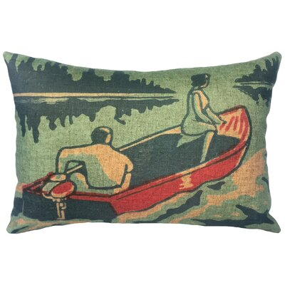 Bevins Boating Linen Lumbar Pillow