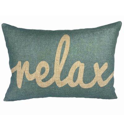 Bilderback Relax Linen Lumbar Pillow