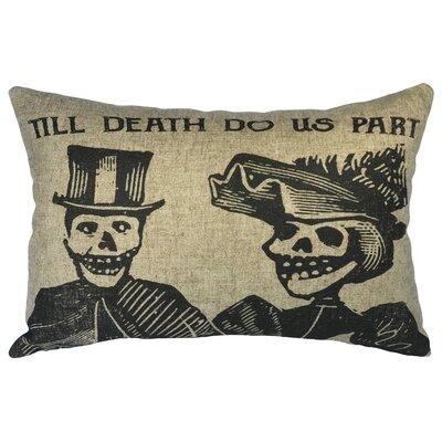 Crampton Till Death Linen Lumbar Pillow