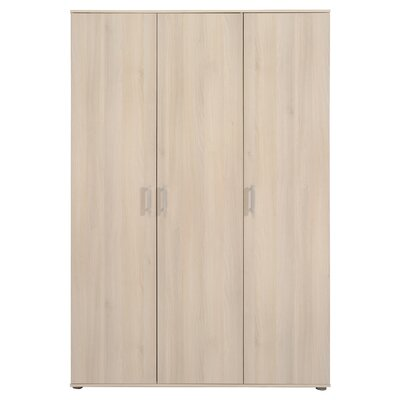 Mauro 3 Door Wardrobe Armories Color: Acacia