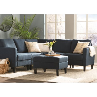 Bayard Modular Sectional Upholstery: Dark Blue