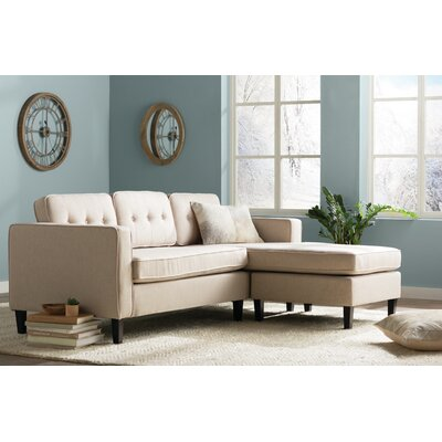 Bay Terrace Sectional Upholstery: Cream