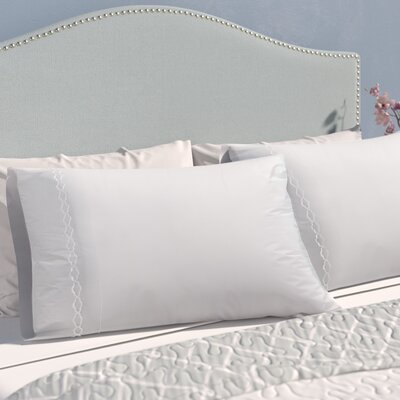 Garrick Solid Clouds Pillow Case Size: Standard, Color: White