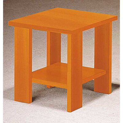 Fergerson End Table Color: Red Cherry