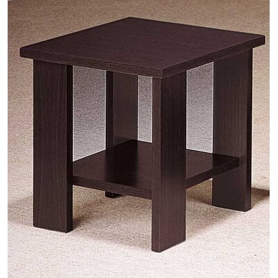 Fergerson End Table Color: Light Cocoa