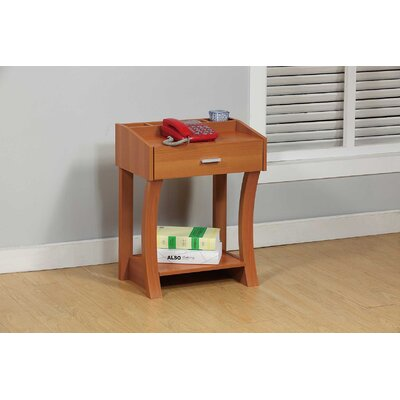 Etzel End Table Color: Light Cherry