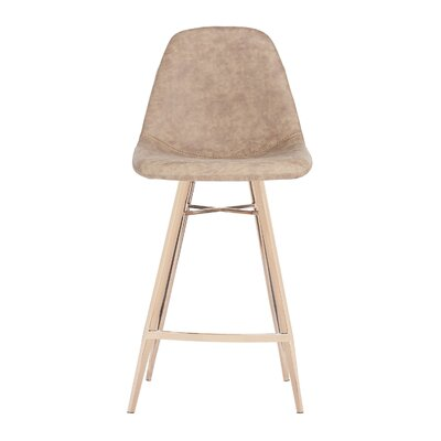 Fromm Counter Bar Stool Color: Brown