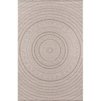 Chenier Tan Indoor/Outdoor Area Rug Rug Size: Rectangle 5 X 76
