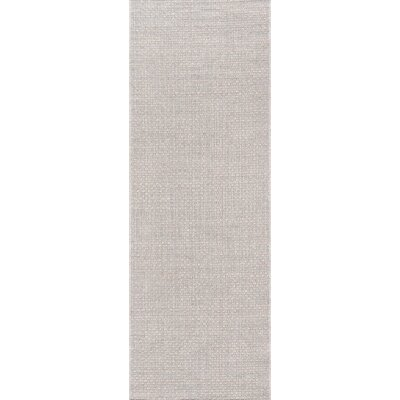 Losada Stone Indoor/Outdoor Area Rug Rug Size: Runner 27 x 76