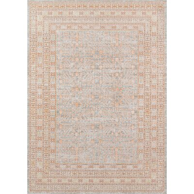 Jorden Beige Area Rug Rug Size: Rectangle 4 X 6