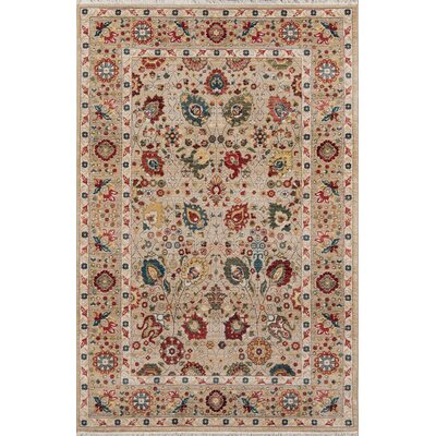 Ebner Ivory Area Rug Rug Size: Rectangle 33 X 53