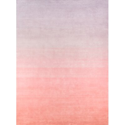 Costin Hand-Tufted Wool Lilac Area Rug Rug Size: Rectangle 5 X 8