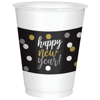Happy New Year 16 oz. Plastic Everyday Cup 420133