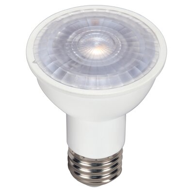 E26/Medium LED Light Bulb Wattage: 6W, Bulb Temperature: 3000K