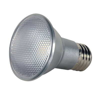 7W E26/Medium LED Light Bulb Bulb Temperature: 2700K, Beam Angle: 25