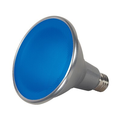 15W E26/Medium LED Light Bulb Color: Blue