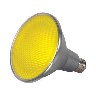 15W E26/Medium LED Light Bulb Color: Yellow