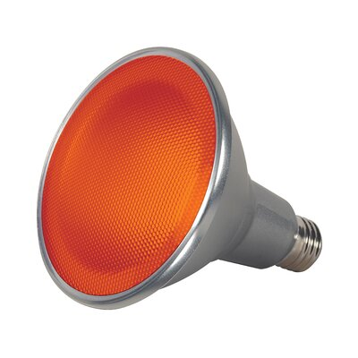 15W E26/Medium LED Light Bulb Color: Amber
