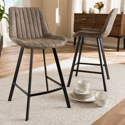 Soto 25.59 Bar Stool (Set of 2)