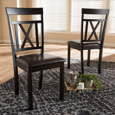 Fells Solid Wood Dining Chair (Set of 2)