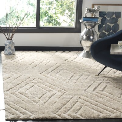 West Village Cream Area Rug Rug Size: Square 67