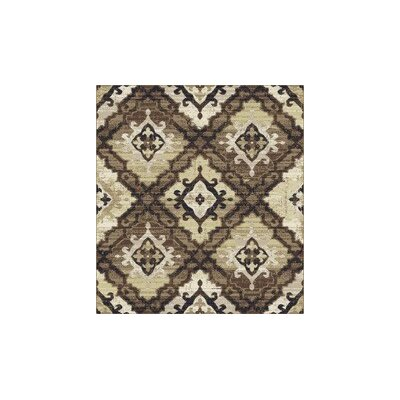 Colston Brown Area Rug Rug Size: Rectangle 53 x 72
