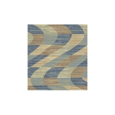 Stone Blue Area Rug Rug Size: Rectangle 53 x 72