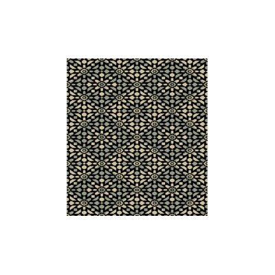 Bevill Black Area Rug Rug Size: Rectangle 53 x 72