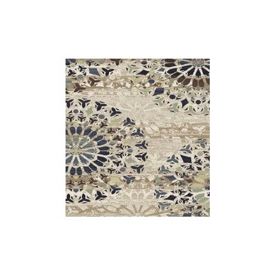 Figgs Beige Area Rug Rug Size: Rectangle 53 x 72