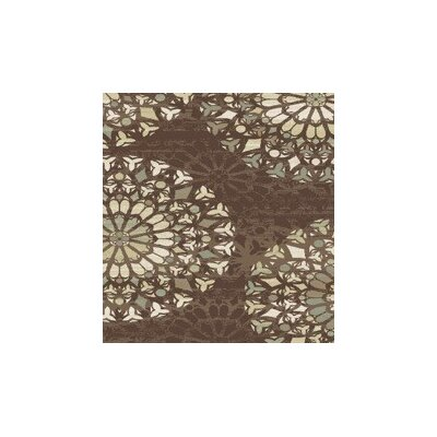 Figgs Brown Area Rug Rug Size: Rectangle 53 x 72