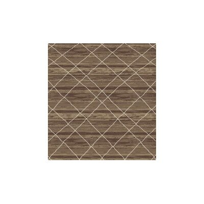 Bevis Brown Area Rug Rug Size: Rectangle 53 x 72